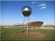 TQ3785 : Mirrorball and Velodrome by Des Blenkinsopp