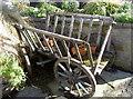 ST4347 : Garden flower cart by Neil Owen