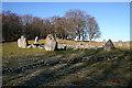 NJ7428 : Loanhead of Daviot Recumbent Stone Circle (4) by Anne Burgess
