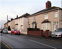 ST3090 : Pillmawr Road houses, Malpas, Newport by Jaggery