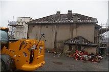 SH5639 : Porthmadog Coliseum Cinema Demolition by Arthur C Harris