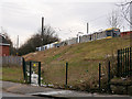 SD8401 : Entrance to former Woodlands Road Station by David Dixon