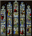 SK8262 : East window, All Saints' church, Collingham by Julian P Guffogg