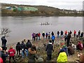 NZ1664 : BUSC Rowing Championships - Men's Fours by Andrew Curtis