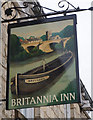 SE4843 : The Britannia Inn, Tadcaster by Ian S
