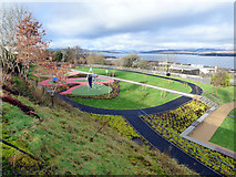 NS3174 : New play area in Birkmyre Park by Thomas Nugent