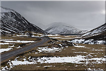 NO1485 : The A93 in Glen Clunie by Nigel Corby