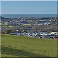 SN6179 : Aberystwyth from the east by Nigel Brown