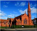 SH8479 : Former English Presbyterian Church, Colwyn Bay by Jaggery