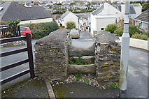 SX4952 : Isolated stile, Hexton Hill Rd by N Chadwick