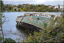 SX5052 : Wreck, Hooe Lake by N Chadwick