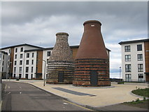 NT3074 : Portobello Pottery kilns restored by M J Richardson