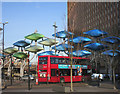 TQ3884 : Blobs and a Bus by Des Blenkinsopp