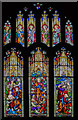 TA0339 : St John window, St Mary's church, Beverley by J.Hannan-Briggs