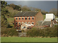SX9093 : Exwick Mill, as seen from the flood plain by Roger Jones