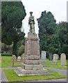 TF4710 : War memorial, Walsoken, Wisbech by Richard Humphrey