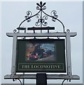 TF4610 : The Locomotive (Sign) - Public Houses, Inns and Taverns of Wisbech by Richard Humphrey