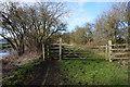 TA0945 : Path alongside the Leven Canal by Ian S