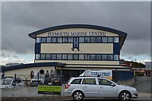 SX5054 : Plymouth Marine Centre by N Chadwick