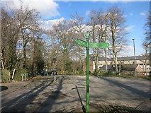 TQ3870 : Green Chain on Crab Hill by Des Blenkinsopp