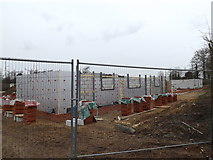 TM3669 : The Croft new housing development by Adrian Cable