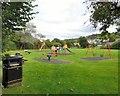 SH7950 : Penmachno playground by Gerald England
