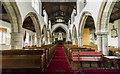 SE8904 : Interior, Holy Trinity church, Messingham by J.Hannan-Briggs