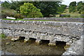 SK2163 : Mawnstone Lane Bridge by N Chadwick