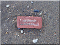 NZ4444 : Brick, on Easington Colliery Beach by Mick Garratt