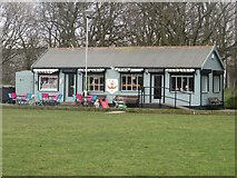 NZ3181 : Pavilion in Ridley Park, Blyth by Graham Robson