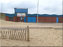 NZ3766 : Lifeguard Station, South Shields by Oliver Dixon