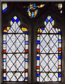 SE8904 : Stained glass window n.V, Holy Trinity church, Messingham by Julian P Guffogg