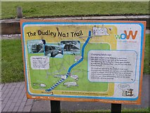SO9186 : Dudley Trail Sign by Gordon Griffiths