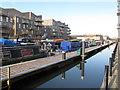 TQ1777 : Norma Dorothy and Kilbreck, narrowboats in Brentford Lock basin by David Hawgood