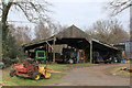 SE4772 : Outbuildings attached to Oak Tree Farm by Chris Heaton