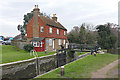 TQ0051 : Stoke Lock, River Wey Navigation by Alan Hunt