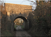 SS8178 : Cuckoo Bridge, nr Nottage from the west by eswales