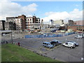 SU1584 : Demolition of the Islington Street multi-storey car park by Vieve Forward