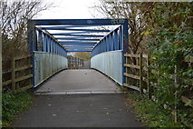 SX4954 : Bridge over the A374 by N Chadwick