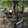 SP2865 : Public space, St John's, Warwick by Robin Stott
