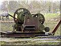 SK4151 : Brittain Pit - former steam winch by Chris Allen