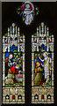SK8475 : Stained glass window, Ss Peter & Paul, Kettlethorpe by Julian P Guffogg