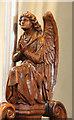 TQ3976 : All Saints, Blackheath - Stall angel by John Salmon