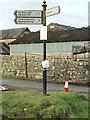 SS9479 : Crossroads Sign by Alan Hughes