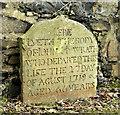 J3274 : John McIlwrath headstone, Shankill Graveyard, Belfast (March 2016) by Albert Bridge