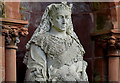 J3175 : Queen Victoria sculpture, Shankill Graveyard, Belfast - March 2016(2) by Albert Bridge