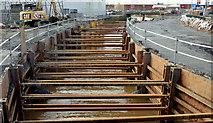 J3674 : Connswater works, Belfast - March 2016(1) by Albert Bridge