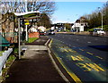 ST3089 : Kimberly Park bus stop and shelter, Malpas Road, Newport by Jaggery