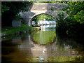 SJ3333 : Hindford Bridge in Shropshire by Roger  Kidd
