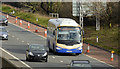 J2966 : Ulsterbus Cookstown Express, M1, Ballyskeagh (March 2016) by Albert Bridge